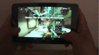 Nexus 7 Tablet Apps & Games Hands On