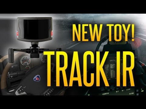 Track IR - Head Tracking Gadget - Overview and Shown in ETS2 and BF3