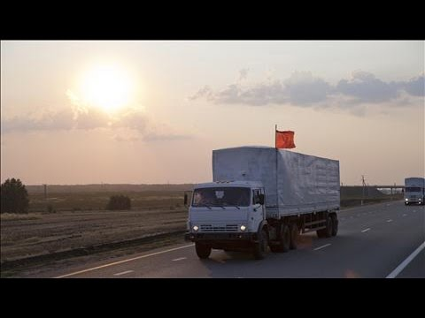 Aid Convoy Sparks Diplomatic Struggle Between Russia and Ukraine