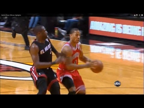 Derrick Rose Offense Highlights video