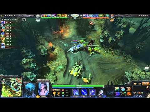 Alliance vs Fnatic, DreamLeague Finals, WB Semifinal, game 3