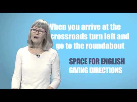 Space for English - PTV Season 2 Programme 03: Giving directions