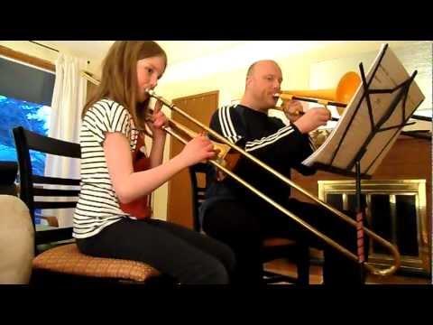 Rockin' Trombone Duet