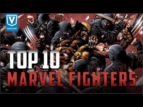 Top 10 Fighters In Marvel Comics!