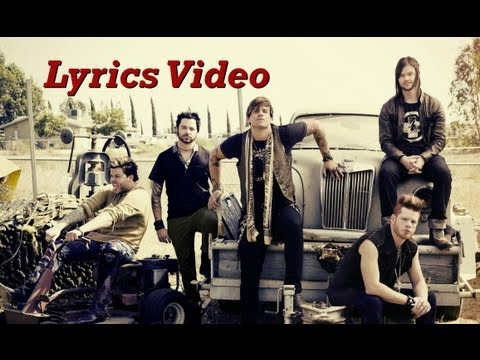 Hinder - I Don&#039;t Wanna Believe (Lyrics Video)