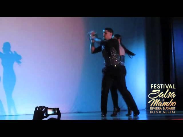 Eddie Torres Jr. & Nelida Tirado - Friday/Viernes | Riviera Nayarit Salsa & Mambo Festival 2013