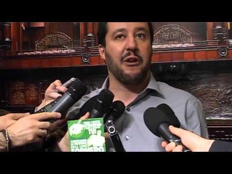 Intervista a Matteo Salvini su Berlusocni