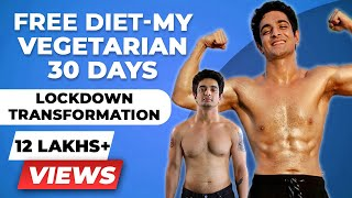 My Honest 30 Days Lockdown Transformation - हिंदी | Free Diet Plan | BeerBiceps Fitness