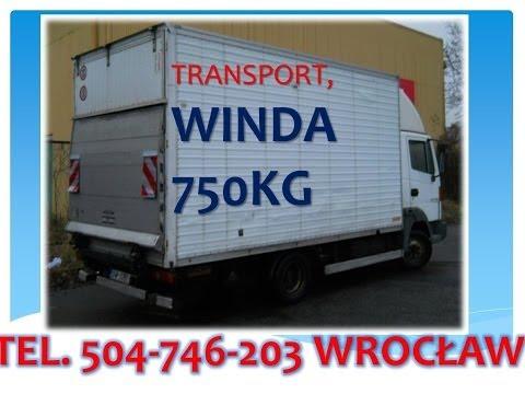 Przeprowadzki Wrocław, Tel 504-746-203, Przeprowadzka Wrocław, Usługi Transportowe, Auto Z Windą,
