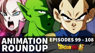 Oops! Dragon Ball Super Staff Roundup - #99 - #108