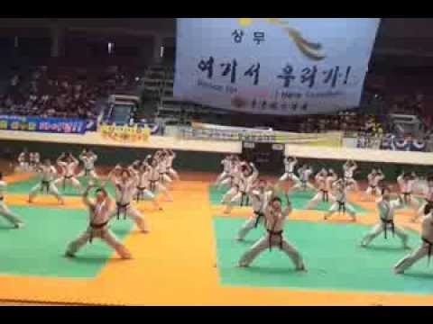 Sun Moon University Hapkido Demo Team 선문대 합기도 시법단 Image 1