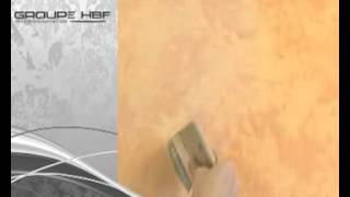 Enduit sablé gamme linea deco provence peinture pertuis 05 42