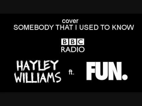 Somebody That I Used To Know (cover) - Fun Ft. Hayley Williams (with Lyrics) video