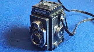 1952 Zeiss Ikon Ikoflex IIa Camera: Stiff Focus Knob, Reapplying Leatherette
