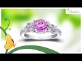 Barkev's Exquisite Pink Sapphire Engagement Ring - PSC-7932LPS