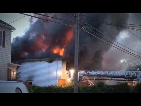 QUEENS - LONG ISLAND Major FIRES! May 27, 2013