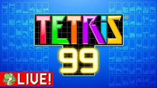 Top 3 or Bust | Tetris 99 | Live Battle Royale Gameplay [#5]