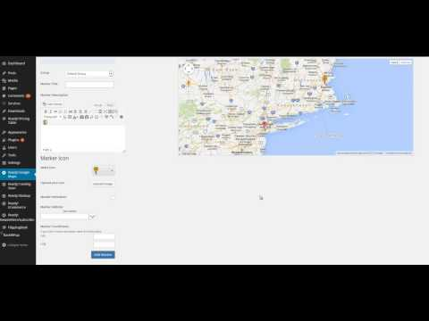 Google Maps WordPress plugin Ready! video tutorial