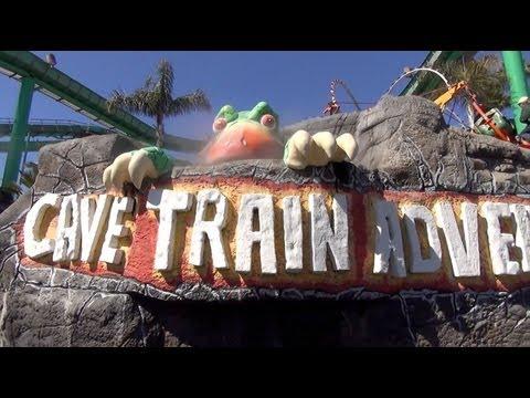 Cave Train Adventure Dark Ride Santa Cruz Beach Boardwalk California