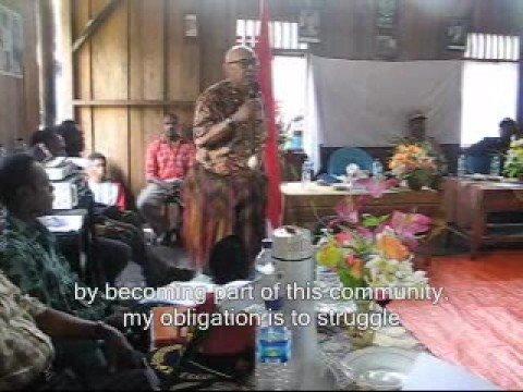 Part 1 Legislator remarks. Environmental disaster investigation in Tangguh LNG areas