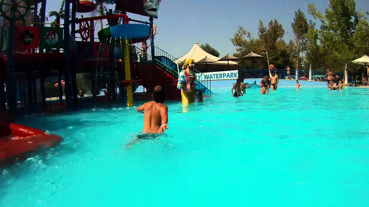 Pirate Island Im Waterpark Thessaloniki