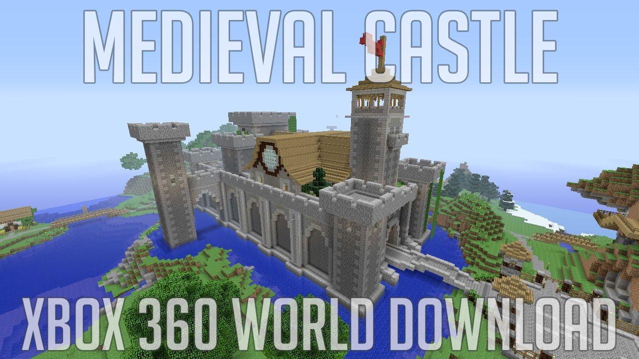 Epic Minecraft Castle Xbox