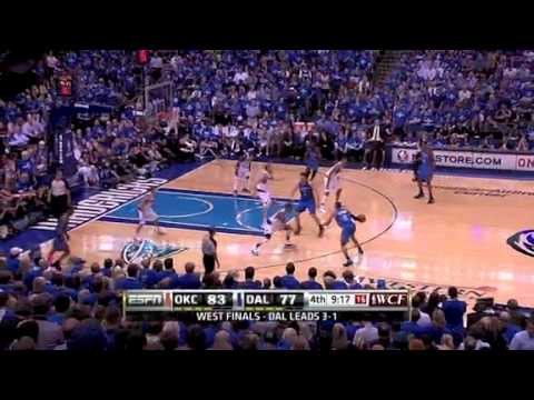 NBA Playoffs 2011: OKC Thunder  Vs Dallas Mavericks Game 5 Highlights (1-4) Dallas Won the Series