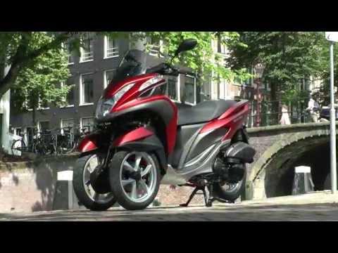 Essai MBK Tryptik / Yamaha Tricity 125 : Le 3 roues compact