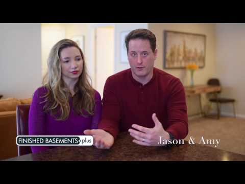 Basement Finishing Waterford, MI | Jason & Amy Testimonial
