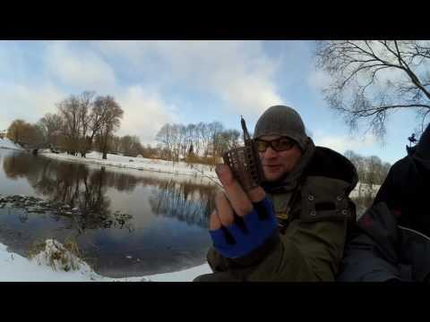 ловля в марте на реке на фидер видео