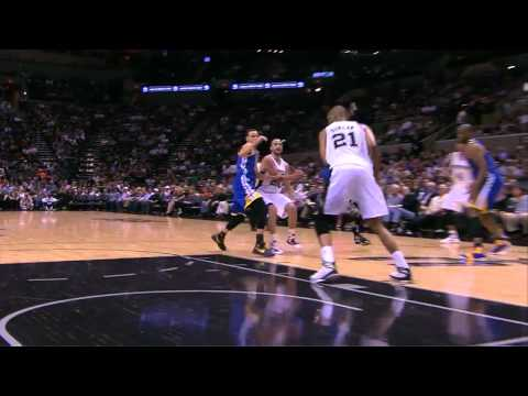 Vintage Tim Duncan 25 points 13 rebounds 6 assists vs Warriors full highlights 03/20/2013 HD