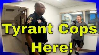 """Part 1 Phenix City Police Alabama """"Tyrant Alert""""  1st Amendment Audit"""