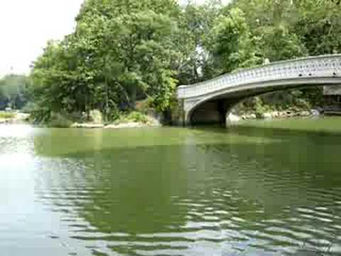 Highland Park Bridge Bow Bridge in Central Park Nyc