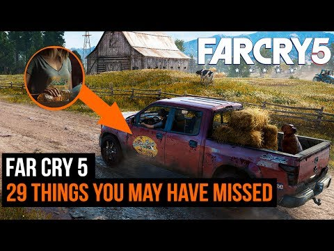 Far Cry 5 Footage - 29 hidden details you missed