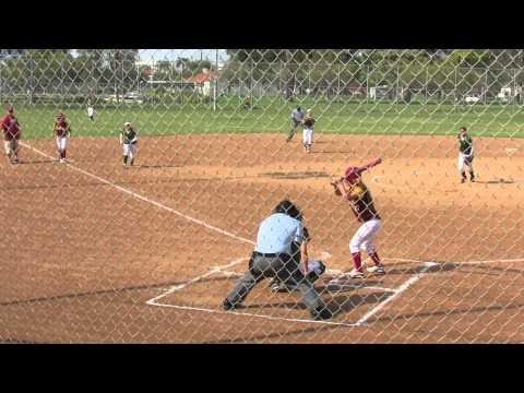 High School Softball: Long Beach Wilson vs. LB Poly