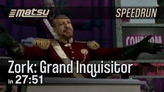 Speedrun: Zork: Grand Inquisitor (Any%) - 27:51 (Current PB)