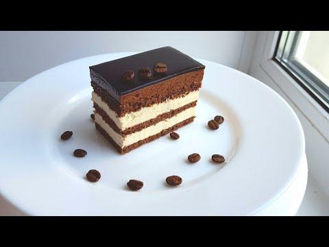 "Торт ""Опера""🌸пошаговый рецепт🌸Opera cake recipe"