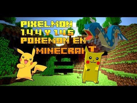 Como instalar Pixelmon 1.4.4 y 1.4.5 mod Minecraft