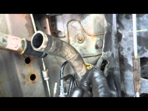 how to install remove replace fuel tank fuel pump pontiac sunfire 2004