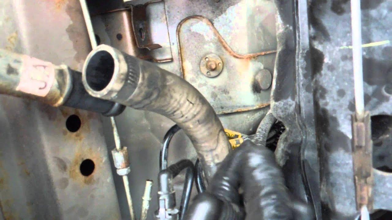 how to install remove replace fuel tank fuel pump pontiac
