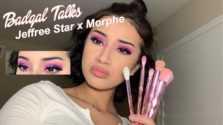 GRWM/REVIEW FT JEFFREE STAR X MORPHE BRUSHES