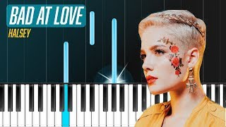 "Download Lagu Halsey - ""Bad At Love"" Piano Tutorial - Chords - How To Play - Cover Gratis STAFABAND"