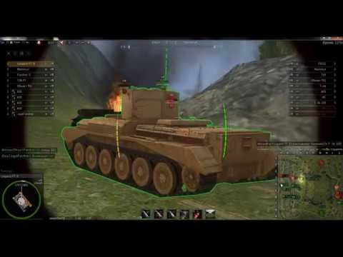 Ground War Tanks Leopard PT B  2 боя - 2 чудотворца