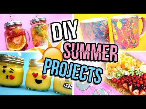 DIY Easy Summer Projects | Tumblr Inspired!