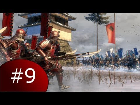 Let's Play Total War: Shogun 2, Part #9 - Actual War Again [Takeda]