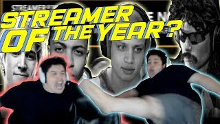 GREEKGODX 'Streamer of The Year' Thoughts, Tyler1 Vote RAP & FIGHT MOVES