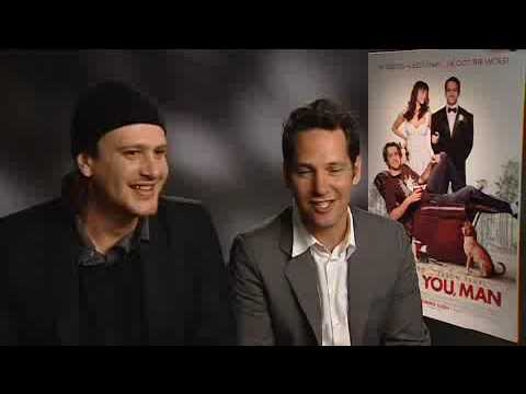 Paul Rudd and Jason Segel on I LOVE YOU, MAN - Entertainment.ie