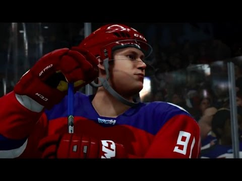NHL 17 Official World Cup Of Hockey Trailer - Gamescom 2016