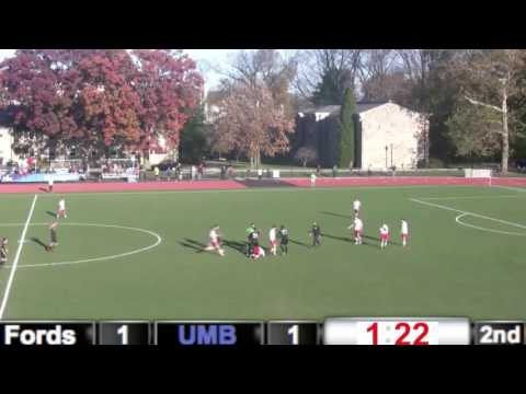 Several dirty fouls from UMass Boston Men's Soccer in NCAA Tournament game vs. Haverford. Two red cards, plus another head butt that went unpenalized. UMass wins in penalties, but shows no...