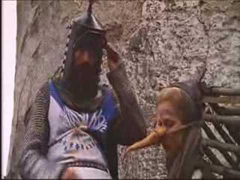 Monty Python-witch Scene